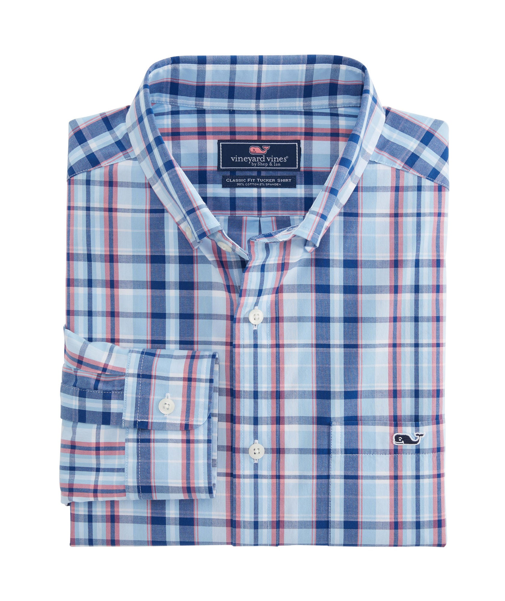 0bc81cc97c Vineyard Vines | Gibbs Hill Plaid Classic Tucker Shirt