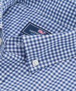 Vineyard Vines | Grand Cay Gingham Performance Nylon Classic Tucker Shirt