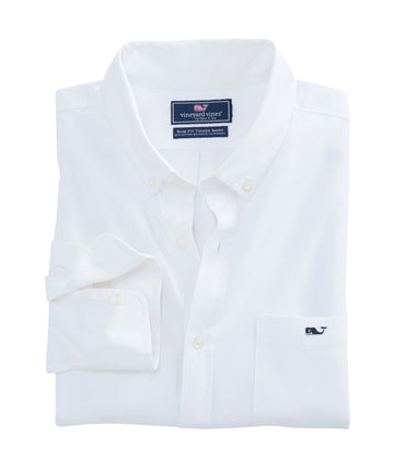 Vineyard Vines | Garment Dyed Oxford Slim Stretch Tucker Shirt