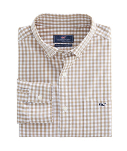 Vineyard Vines | Carleton Gingham Classic Stretch Tucker Shirt