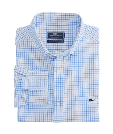Vineyard Vines | Performance Pepperbush Plaid Classic Tucker Shirt