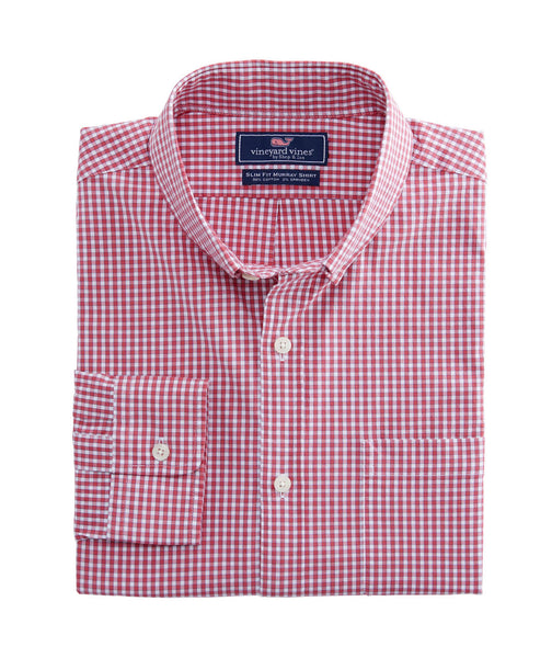 Vineyard Vines | Buttonbush Check Slim Murray Shirt