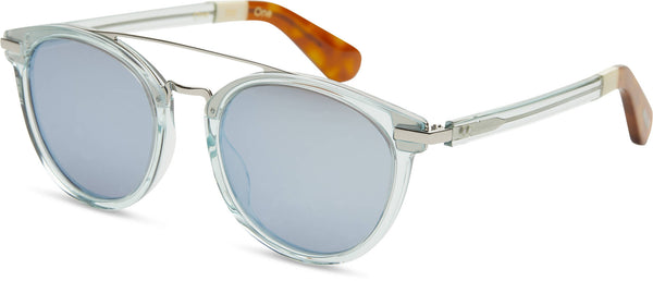 TOMS Eyewear | Harlan - Blue Crystal/Blue mirror