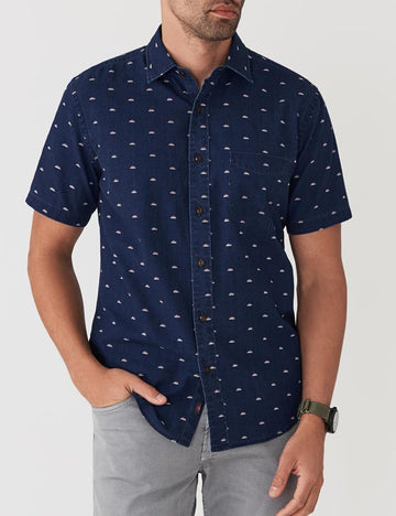 Faherty | Short Sleeve Coast Shirt