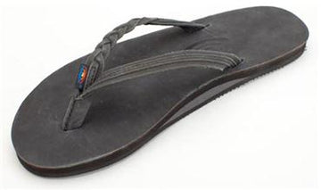 Rainbow Sandals | Flirty Braidy Single Layer w/ Braided Strap