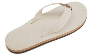 Rainbow Sandals | Single Layer w/ Hemp Top
