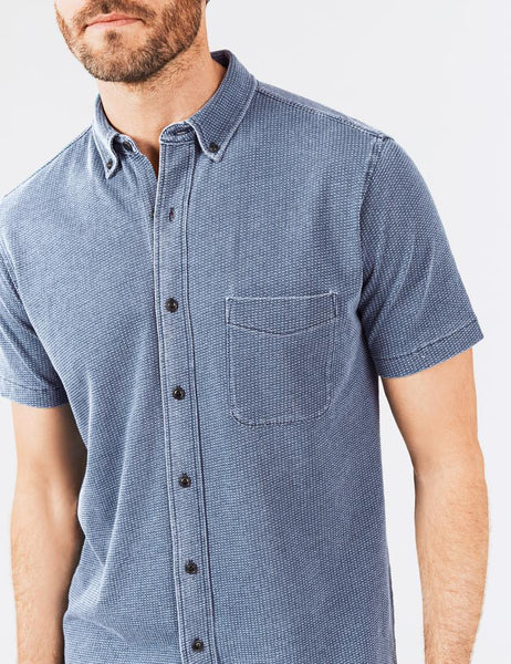 Faherty | Short Sleeve Knit Pacific Shirt