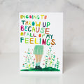 Wunderkid | All Of My Feelings Card