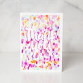 Wunderkid | Confetti Thanks Card