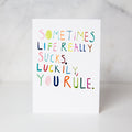 Wunderkid | You Rule Card