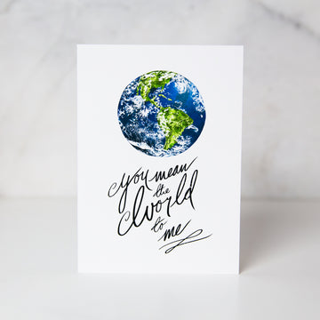 Wunderkid | You Mean The World To Me Card