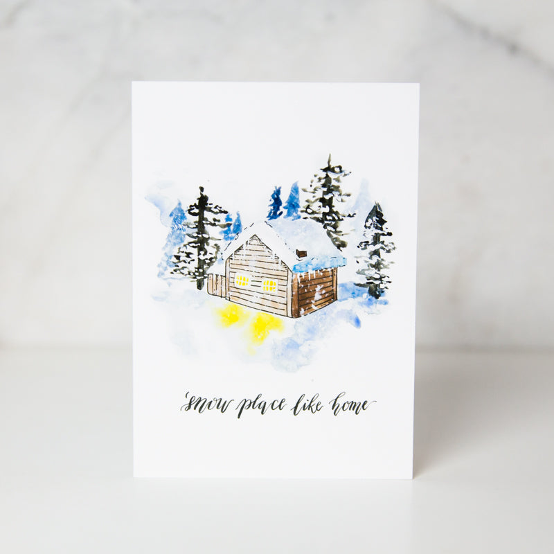 Wunderkid | Snow Place Like Home Card