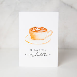 Wunderkid | Love You Latte Card