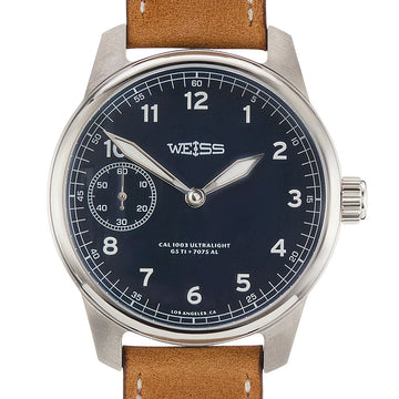 Weiss | Titanium American Issue Field Watch | Ultralight With Aluminum