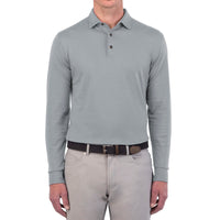 Peter Millar | Banff Long-Sleeve Cotton Cashmere Polo