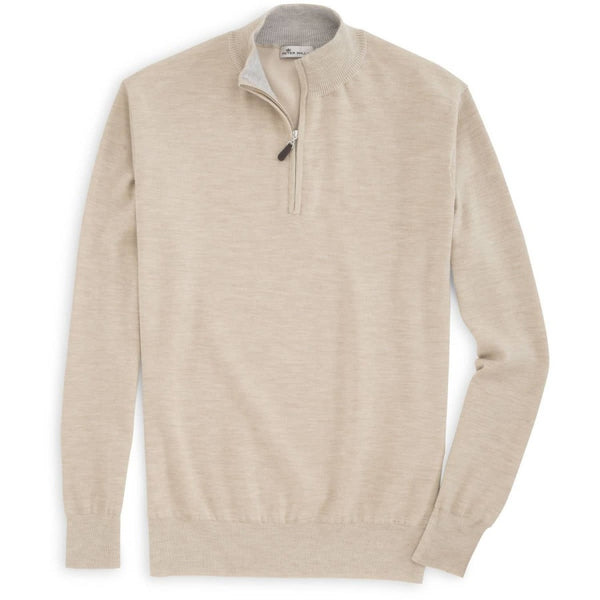 Peter Millar | Crown Cashmere Quarter-Zip Sweater