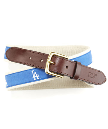 Vineyard Vines | Dodgers Canvas Club Belt