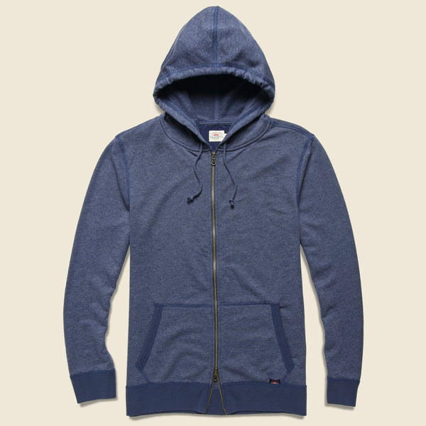Faherty | French Terry Zip Hoodie