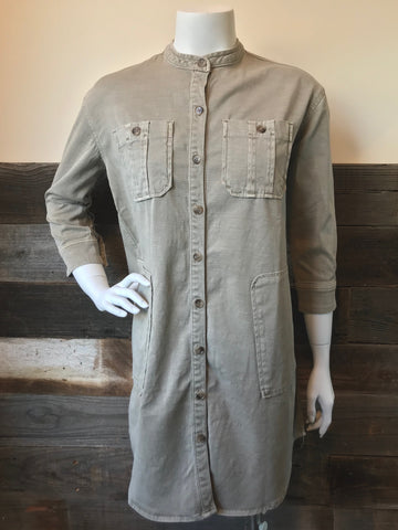 James Perse | Utility Shirt Dress