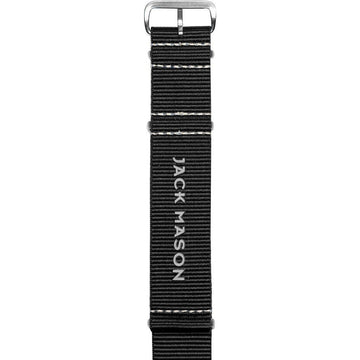 Jack Mason | Aviation Grey Nato Strap