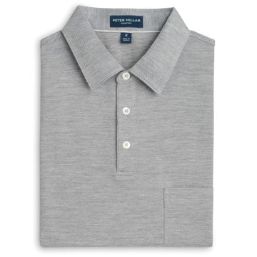Peter Millar | Voyage Cotton-Silk Jacquard Polo