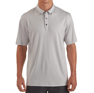 Linksoul - Stanford Short Sleeve Polo - Salt