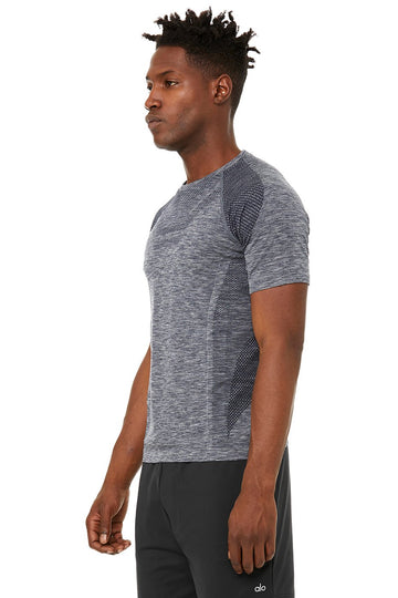 Alo | Men's Amplify Seamless Short Sleeve