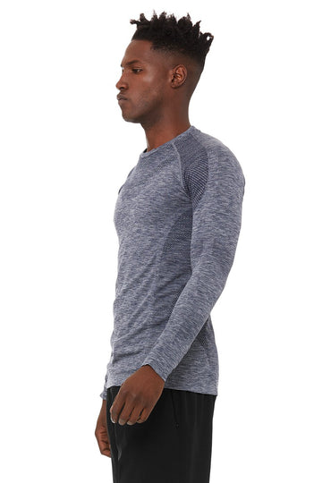 Alo | Men's Amplify Seamless Long Sleeve