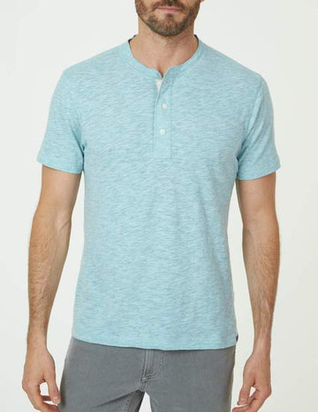 Faherty | Short Sleeve Hunter Henley