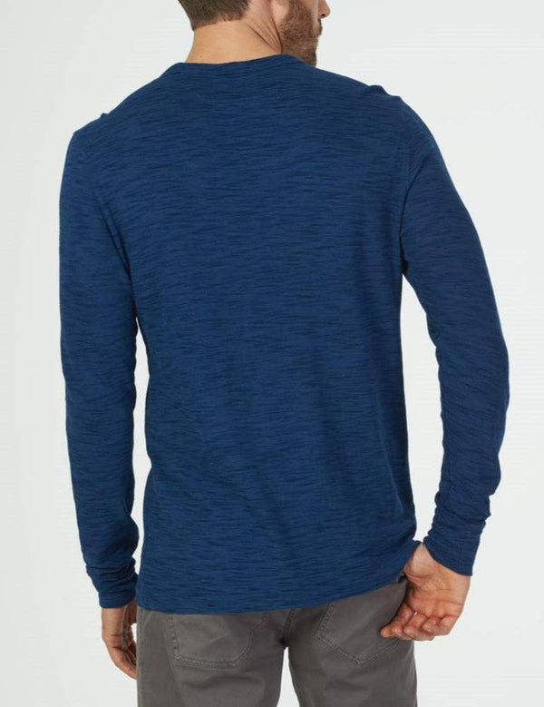 Faherty | Long Sleeve Surf Stripe Crew