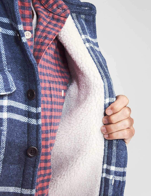 Faherty | Sherpa Lined Wool CPO