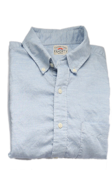 Faherty | Button-Down Collar Oxford Shirt
