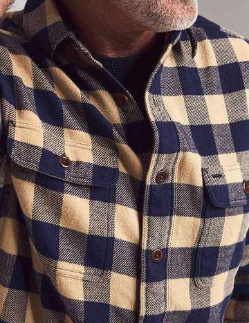 Faherty | Vintage Twill Flannel