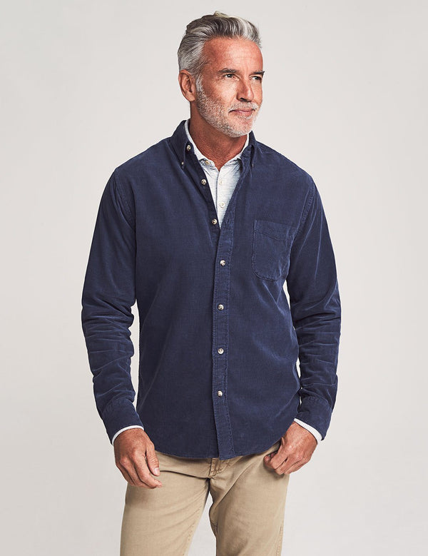 Faherty | Stretch Corduroy Shirt