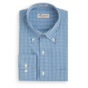 Peter Millar | Crown Soft Gingham Sport Shirt