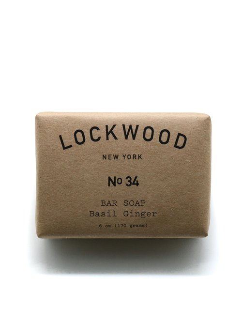 Lockwood NY | No.34 Basil Ginger Bar Soap