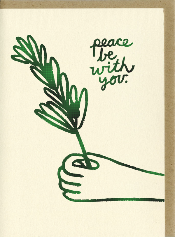 People I've Loved | Peace Be With You Card