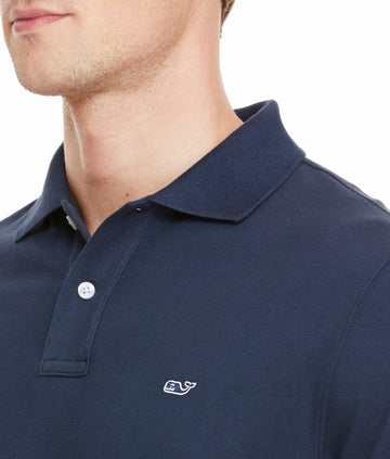 Vineyard Vines | Classic Pique Polo - Vineyard Navy