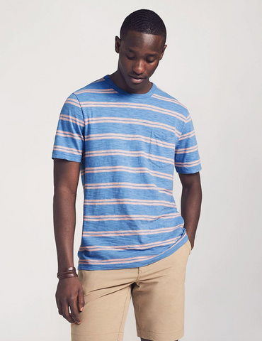 Faherty | Surfrider Stripe Tee