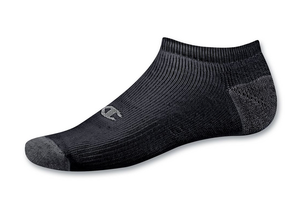 Champion | Double Dry Performance No Show Socks 6-Pack
