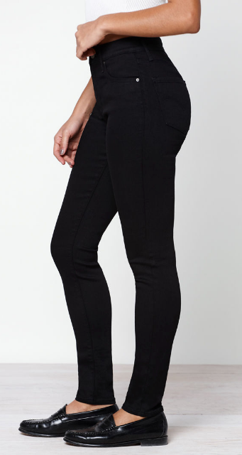 Levi's | 721 High Rise Skinny | Soft Black