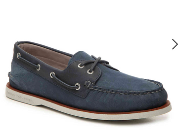 Sperry | Gold Cup AO 2-Eye Boat Shoe | Navy