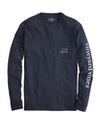 Vineyard Vines | Long Sleeve Vintage Whale Pocket Tee