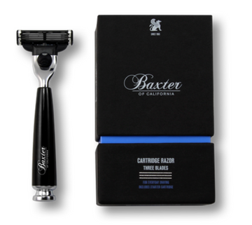 Baxter of California | Black 3 Blade Razor