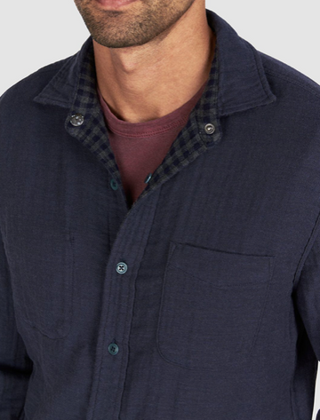 Faherty | Reversible Belmar Shirt