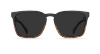 Raen | Pierce | Burlwood/ Black Polarized | 55