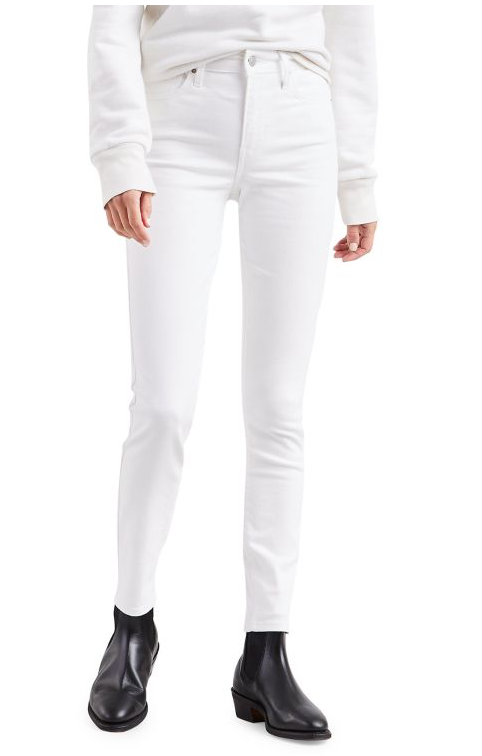 Levi's | 721 High Rise Skinny | Soft Clean White