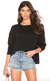 James Perse | Women's Relaxed Cropped Pullover