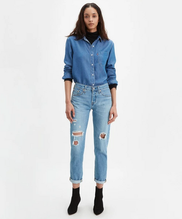 Levi's | 501 Taper | Sansome Light