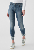 DL1961 | Florence Ankle Mid Rise Instasculpt Skinny Jean | Moore